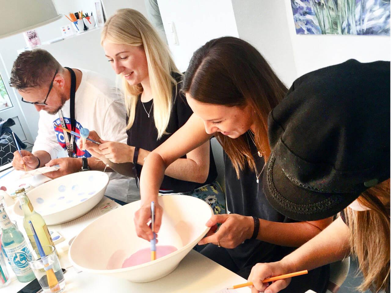 Keramik bemalen Neuss Potteria - Magic Monday