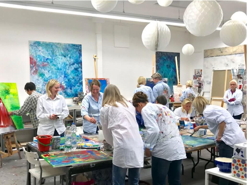 Babettes Kunstraum -Team-Events