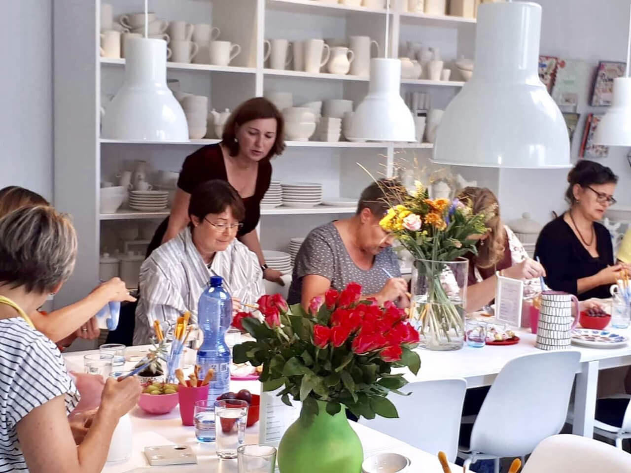 Keramik bemalen Neuss Potteria - Geburtstagsevent