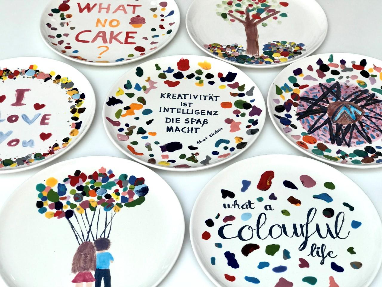 Workshop Konfetti Technik Fur Kinder Ab 8 Und Erwachsene Potteria Keramik Bemalen Neuss